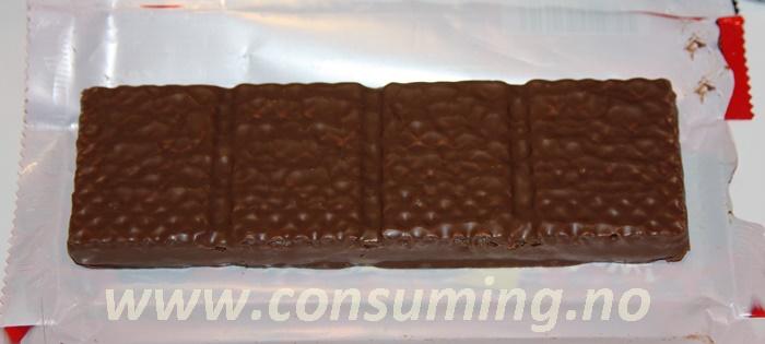 Kina Waffer sjokolade fra Fazer åpen