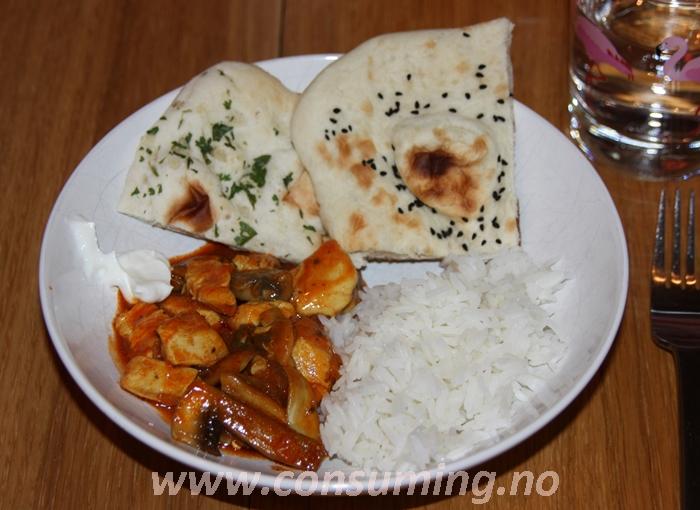 SaritaS Tandori middag