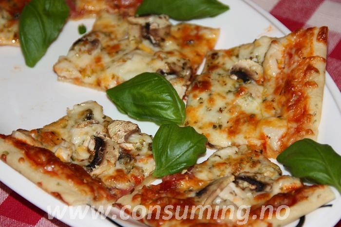 Toro pizzabunn, italiens type ferdig stekt