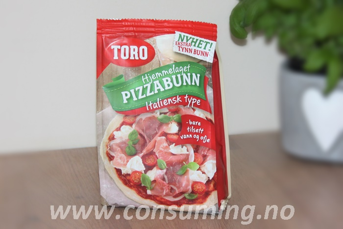 Toro pizzabunn, italiens type