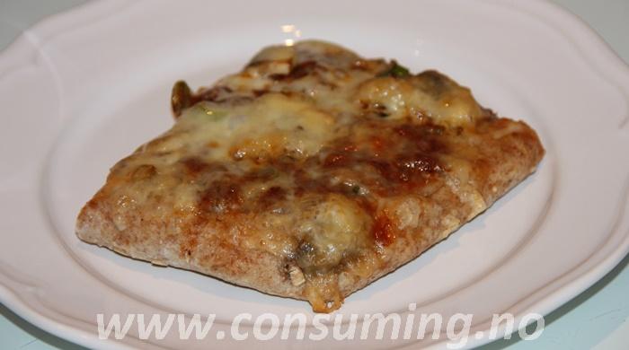 Fibra pizzabunn hverdagskos