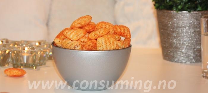 Julehjerter paprika fra Maarud på bordet