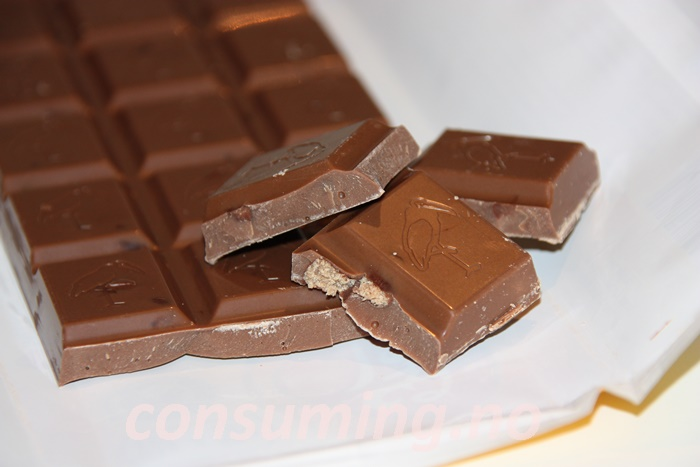 Jappsjokolade oppbrutt