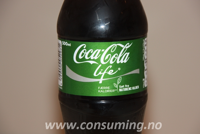 Coca Cola life – Consuming
