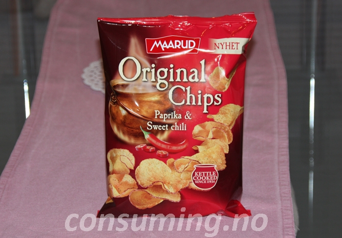 Original chips Paprika & Sweet Chili
