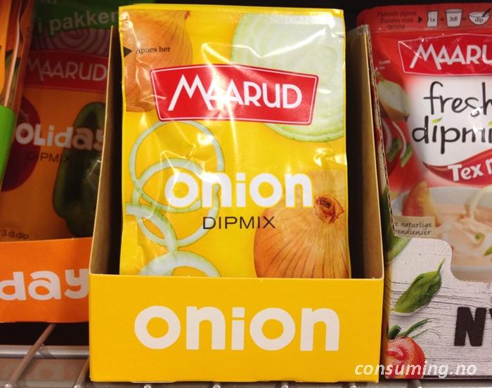 Onion dip på butikken