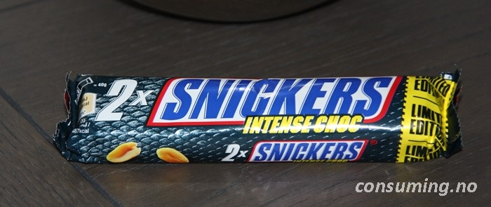 Snickers intense chock limited edition bilde