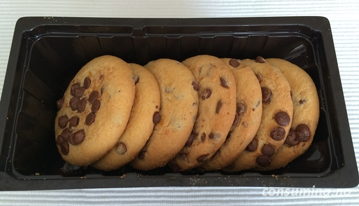 Cookieglede med myk kjerne