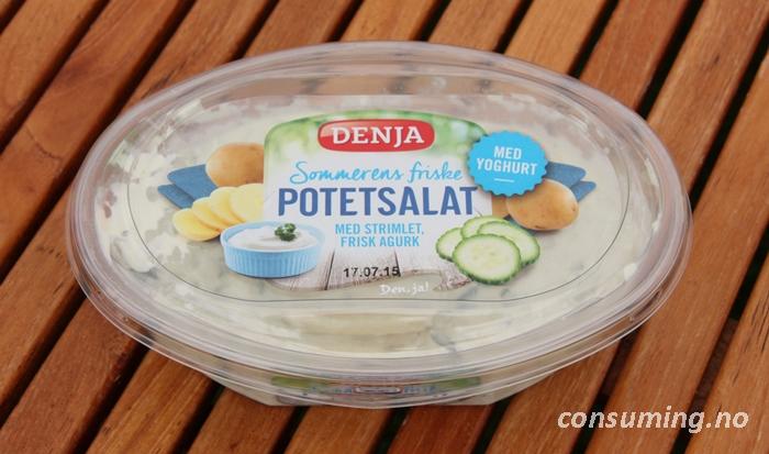 Potetsalat med agurk