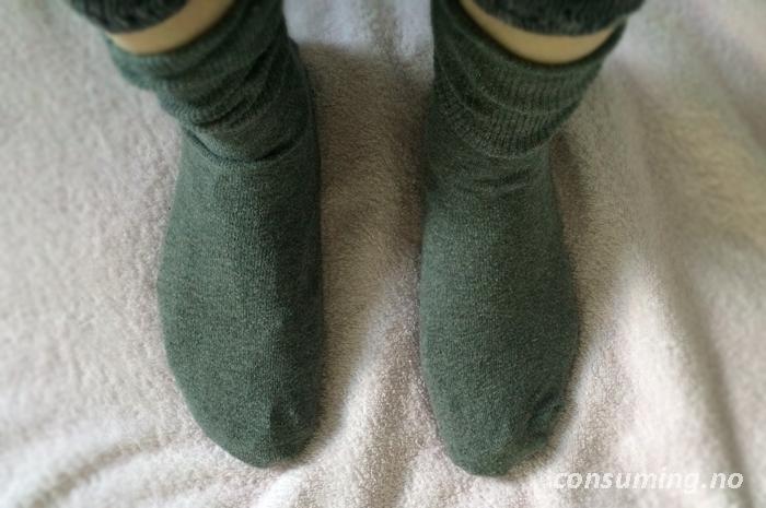 Salvequick fotposer sokker utenpå