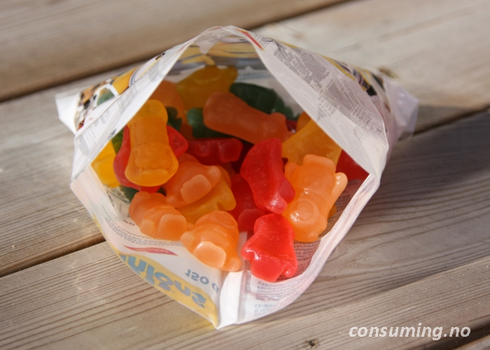 Minions candy åpnet