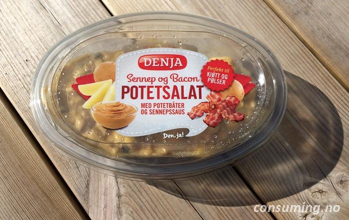 Potetsalat med sennep hjemme