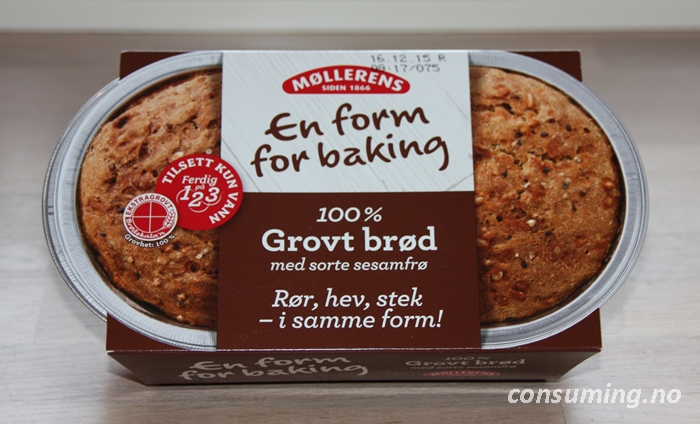 100 prosent grovt brød