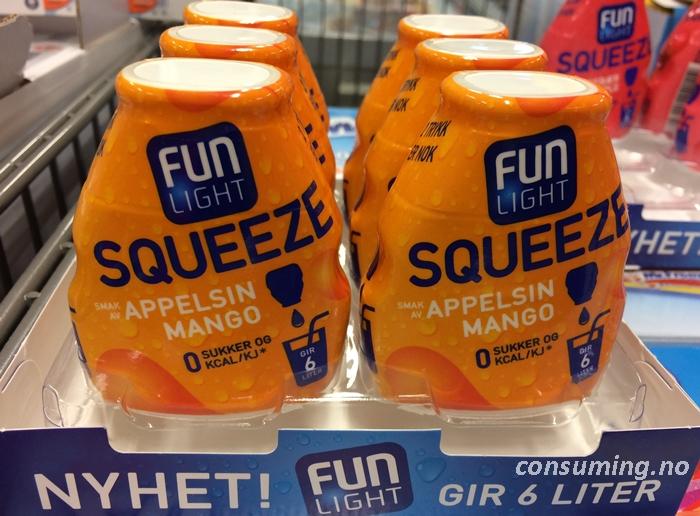 Fun light squeeze pris