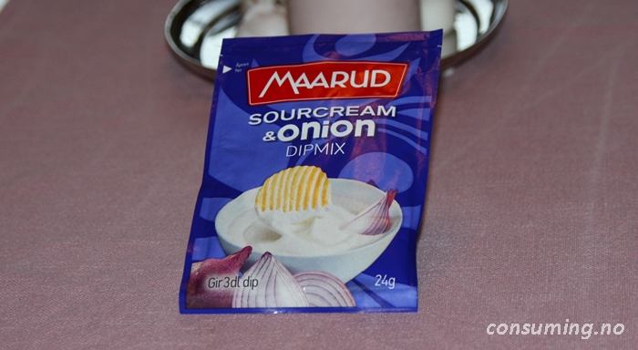 Sourcream onion dipmix