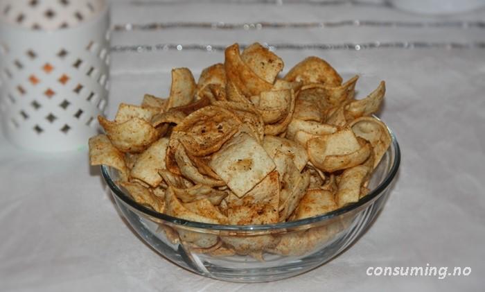 Lentil Chips tomat basil i skål