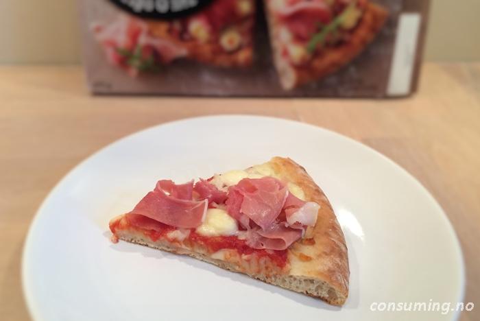 Pizzabakeriet tipo 0 med skinke stykke