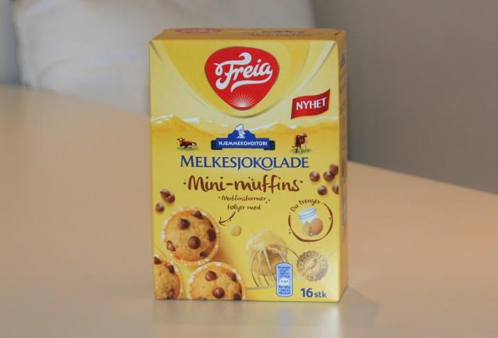Minimuffins fra Freia esken