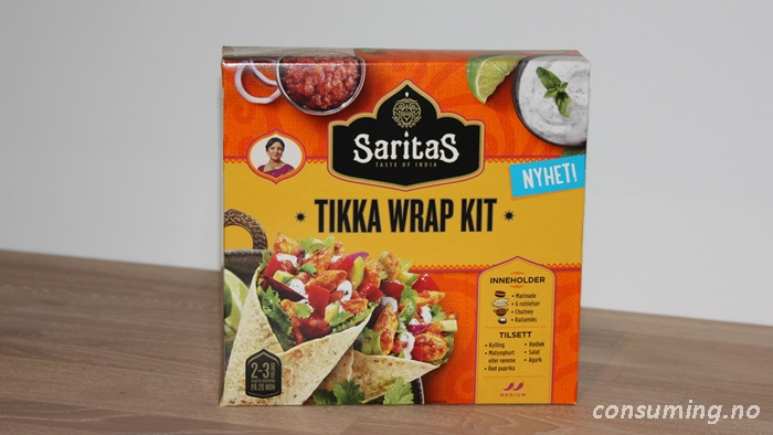 Tikka Wrap kit foran