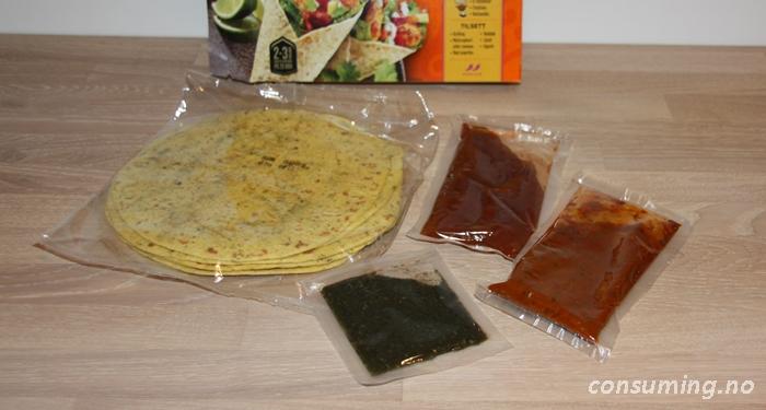 Tikka Wrap kit innhold