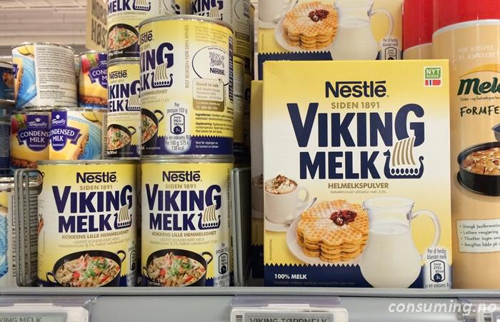 Viking Melk i butikken