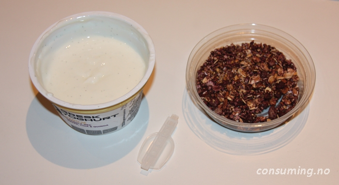 14 Vanilje Gresk Yoghurt åpnet
