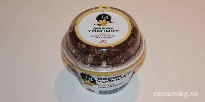 14 Vanilje Gresk Yoghurt hele