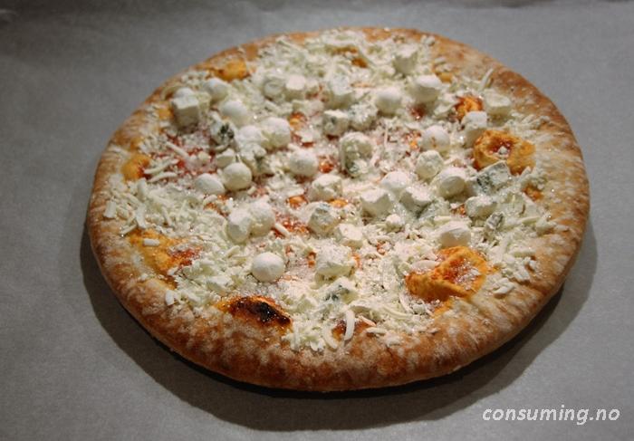 3 oster pizza frossen