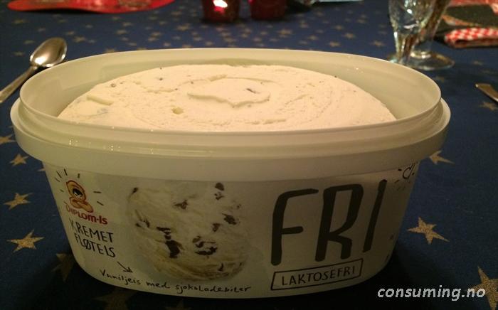 vanilieis med frozen yoghurt