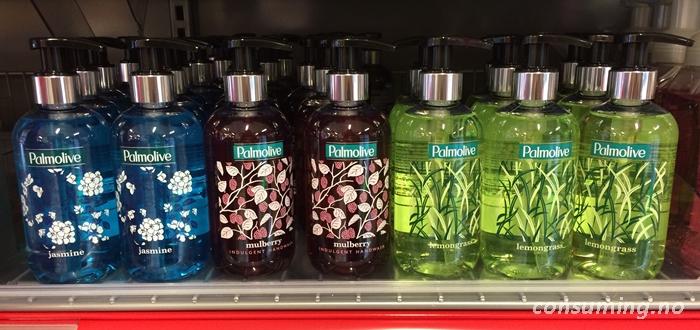 Palmolive i fine flasker