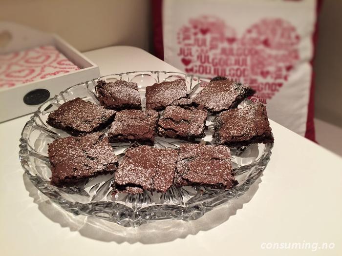 Stor Brownies fra Møllerens ferdig