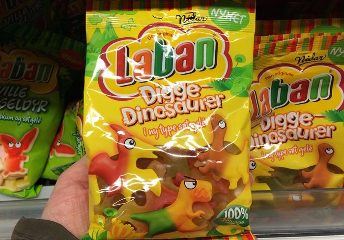 Laban dinosaurer