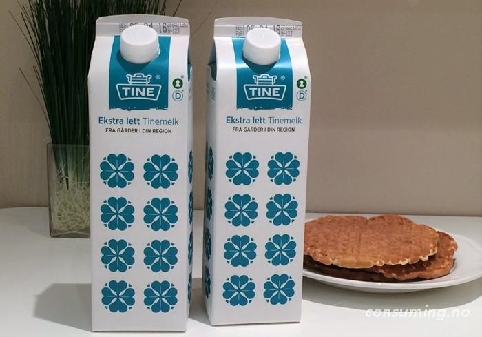 Tinemelk med firkløver