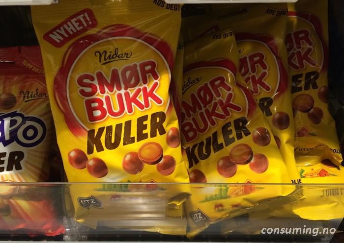 Smørbukkuler i butikken