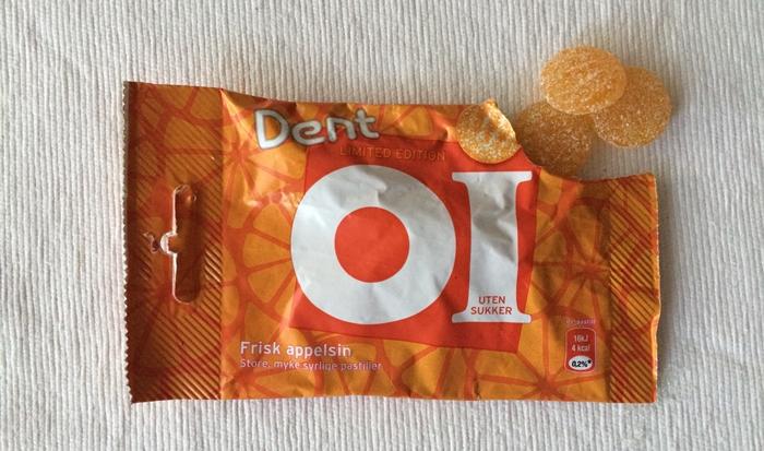 Dent OI, appelsin