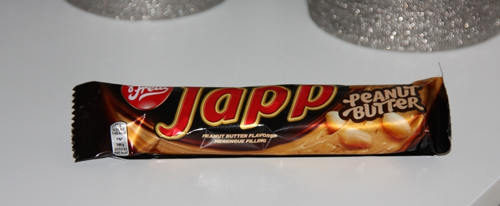 Japp peanut butter bar