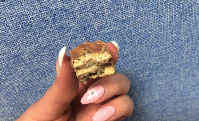 Smørbukk Bites delt i to