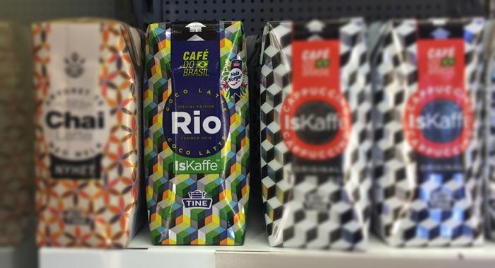 Rio i butikkhylla