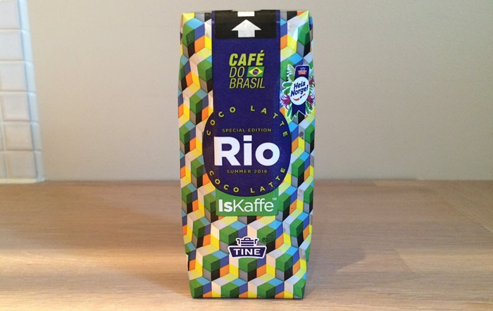 Rio iskaffe fra Tine