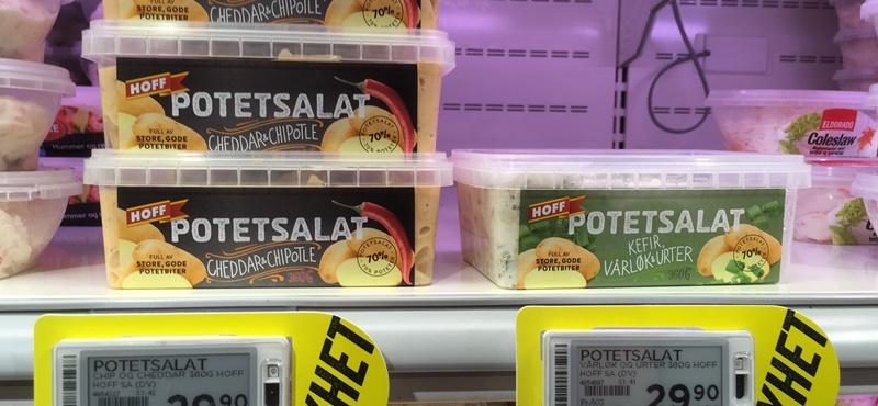 potetsalat med kefir